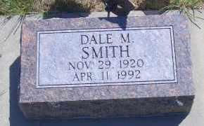 SMITH, DALE M - Madison County, Nebraska | DALE M SMITH - Nebraska Gravestone Photos