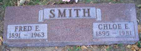 SMITH, FRED E - Madison County, Nebraska | FRED E SMITH - Nebraska Gravestone Photos