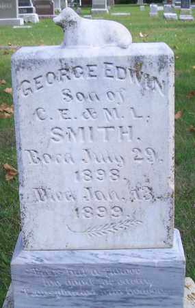 SMITH, GEORGE EDWIN - Madison County, Nebraska | GEORGE EDWIN SMITH - Nebraska Gravestone Photos