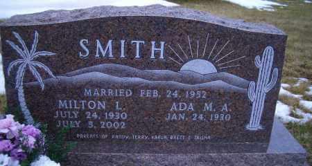 SMITH, MILTON L. - Madison County, Nebraska | MILTON L. SMITH - Nebraska Gravestone Photos
