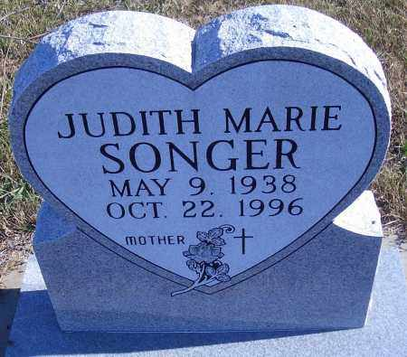 SONGER, JUDITH MARIE - Madison County, Nebraska | JUDITH MARIE SONGER - Nebraska Gravestone Photos