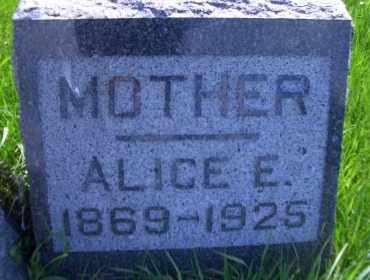 SOUVIGNIER, ALICE. E - Madison County, Nebraska   ALICE. E SOUVIGNIER - Nebraska Gravestone Photos