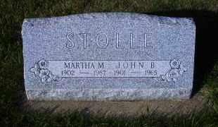 ZOHNER STOLLE, MARTHA M. - Madison County, Nebraska   MARTHA M. ZOHNER STOLLE - Nebraska Gravestone Photos