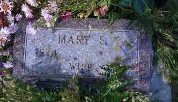 SULLIVAN, MARY E. - Madison County, Nebraska | MARY E. SULLIVAN - Nebraska Gravestone Photos