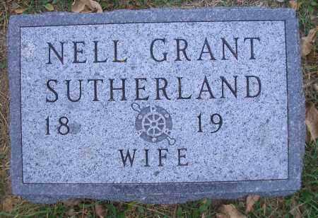 SUTHERLAND, NELL - Madison County, Nebraska | NELL SUTHERLAND - Nebraska Gravestone Photos