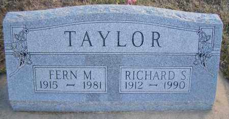TAYLOR, FERN M - Madison County, Nebraska | FERN M TAYLOR - Nebraska Gravestone Photos