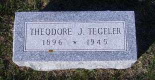 TEGELER, THEODORE J. - Madison County, Nebraska | THEODORE J. TEGELER - Nebraska Gravestone Photos