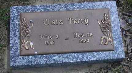 TERRY, CLARA - Madison County, Nebraska | CLARA TERRY - Nebraska Gravestone Photos