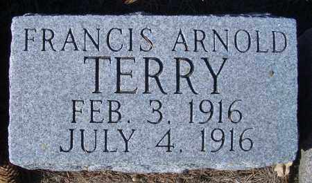 TERRY, FRANCIS ARNOLD - Madison County, Nebraska   FRANCIS ARNOLD TERRY - Nebraska Gravestone Photos
