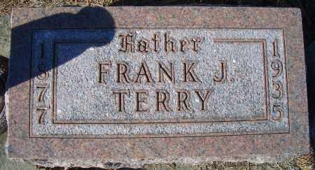 TERRY, FRANK J - Madison County, Nebraska | FRANK J TERRY - Nebraska Gravestone Photos