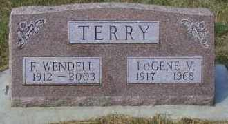 OSBORN TERRY, LOGENE V. - Madison County, Nebraska | LOGENE V. OSBORN TERRY - Nebraska Gravestone Photos