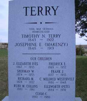 TERRY, FAMILY MARKER - Madison County, Nebraska | FAMILY MARKER TERRY - Nebraska Gravestone Photos