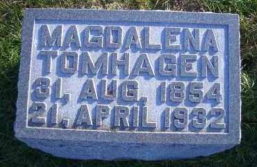 GUNKEL TOMHAGEN, MAGDALENA - Madison County, Nebraska | MAGDALENA GUNKEL TOMHAGEN - Nebraska Gravestone Photos