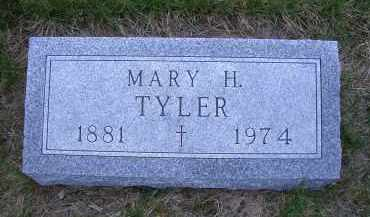 TYLER, MARY H. - Madison County, Nebraska | MARY H. TYLER - Nebraska Gravestone Photos