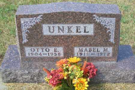 UNKEL, OTTO E. - Madison County, Nebraska | OTTO E. UNKEL - Nebraska Gravestone Photos