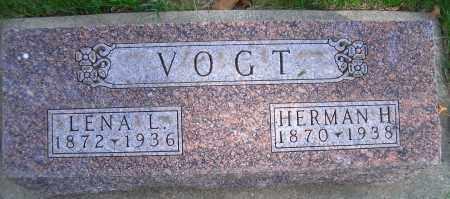 VOGT, LENA L - Madison County, Nebraska | LENA L VOGT - Nebraska Gravestone Photos