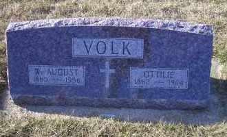 WIENCK VOLK, OTTILIE - Madison County, Nebraska | OTTILIE WIENCK VOLK - Nebraska Gravestone Photos