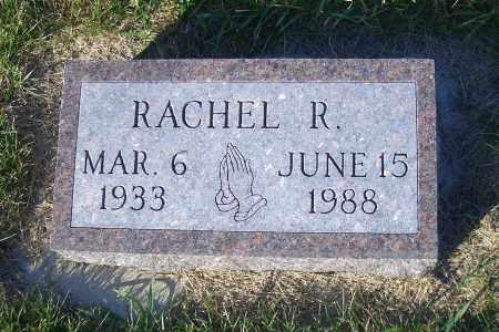 WACKER, RACHEL R. - Madison County, Nebraska | RACHEL R. WACKER - Nebraska Gravestone Photos