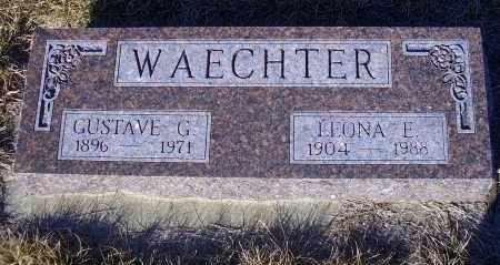 WARNKE WAECHTER, LEONA E. - Madison County, Nebraska | LEONA E. WARNKE WAECHTER - Nebraska Gravestone Photos