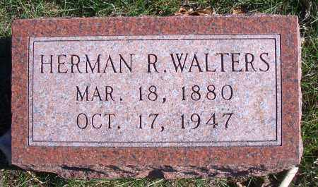 WALTERS, HERMAN R - Madison County, Nebraska | HERMAN R WALTERS - Nebraska Gravestone Photos
