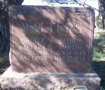 WALTERS, BARBARA - Madison County, Nebraska | BARBARA WALTERS - Nebraska Gravestone Photos