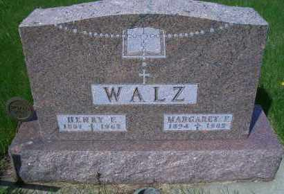 WALZ, HENRY F. - Madison County, Nebraska   HENRY F. WALZ - Nebraska Gravestone Photos
