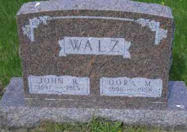 WALZ, DORA M. - Madison County, Nebraska | DORA M. WALZ - Nebraska Gravestone Photos