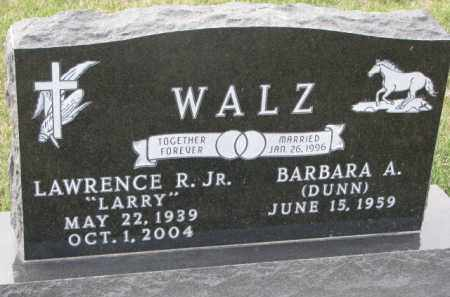 "WALZ, LAWRENCE R. JR.  ""LARRY"" - Madison County, Nebraska 