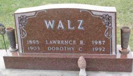 WALZ, LAWRENCE R. - Madison County, Nebraska | LAWRENCE R. WALZ - Nebraska Gravestone Photos