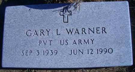 WARNER, GARY L - Madison County, Nebraska | GARY L WARNER - Nebraska Gravestone Photos