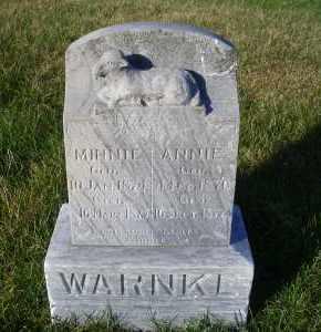 WARNKE, ANNIE - Madison County, Nebraska | ANNIE WARNKE - Nebraska Gravestone Photos