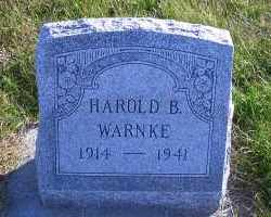 WARNKE, HAROLD B. - Madison County, Nebraska | HAROLD B. WARNKE - Nebraska Gravestone Photos