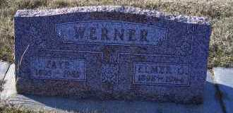 TIEDGEN WERNER, FAYE - Madison County, Nebraska | FAYE TIEDGEN WERNER - Nebraska Gravestone Photos