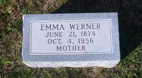 BIERMAN WERNER, EMMA - Madison County, Nebraska   EMMA BIERMAN WERNER - Nebraska Gravestone Photos