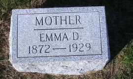 WARNKE WERNER, EMMA D. - Madison County, Nebraska | EMMA D. WARNKE WERNER - Nebraska Gravestone Photos
