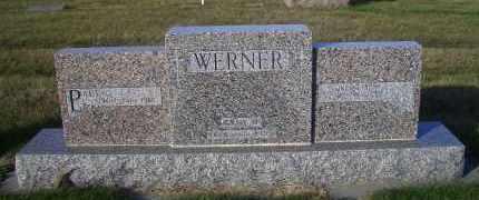 WERNER, ANNA M. - Madison County, Nebraska | ANNA M. WERNER - Nebraska Gravestone Photos