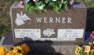 TEWS WERNER, IRMA L. - Madison County, Nebraska | IRMA L. TEWS WERNER - Nebraska Gravestone Photos