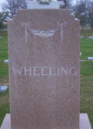WHEELING, FAMILY HEADSTONE - Madison County, Nebraska | FAMILY HEADSTONE WHEELING - Nebraska Gravestone Photos