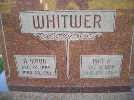 PEIRCE WHITWER, N. MAUD - Madison County, Nebraska | N. MAUD PEIRCE WHITWER - Nebraska Gravestone Photos