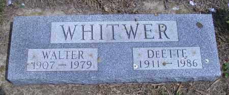 WHITWER, DEETTE - Madison County, Nebraska | DEETTE WHITWER - Nebraska Gravestone Photos