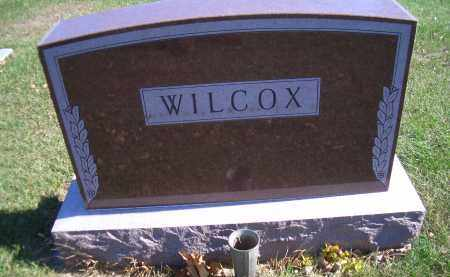 WILCOX, FAMILY HEADSTONE - Madison County, Nebraska | FAMILY HEADSTONE WILCOX - Nebraska Gravestone Photos