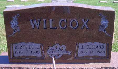 WILCOX, J CLELAND - Madison County, Nebraska   J CLELAND WILCOX - Nebraska Gravestone Photos
