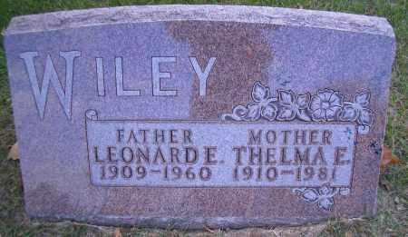 WILEY, LEONARDE - Madison County, Nebraska | LEONARDE WILEY - Nebraska Gravestone Photos