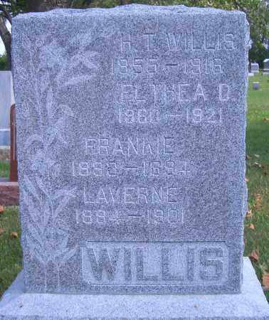 WILLIS, ELTHEA - Madison County, Nebraska | ELTHEA WILLIS - Nebraska Gravestone Photos