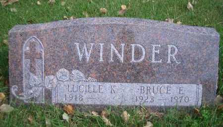 WINDER, BRUCE E - Madison County, Nebraska | BRUCE E WINDER - Nebraska Gravestone Photos