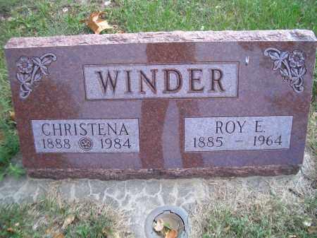 WINDER, ROY E - Madison County, Nebraska | ROY E WINDER - Nebraska Gravestone Photos