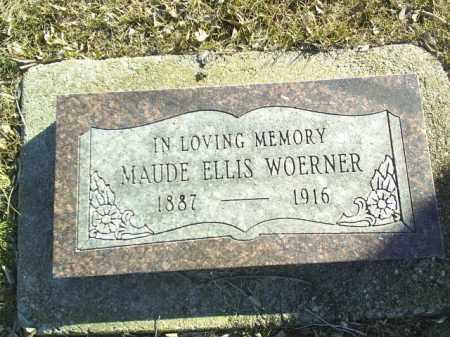 WOERNER, MAUDE - Madison County, Nebraska   MAUDE WOERNER - Nebraska Gravestone Photos