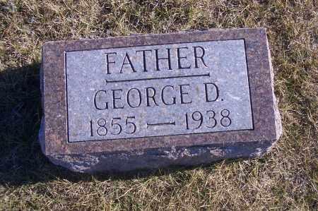 WRIGHT, GEORGE D. - Madison County, Nebraska | GEORGE D. WRIGHT - Nebraska Gravestone Photos