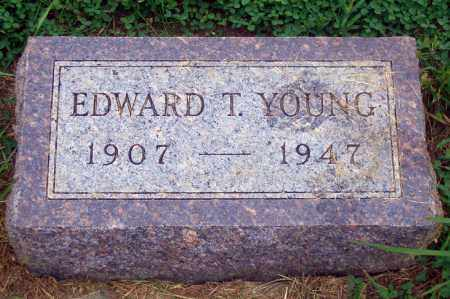 YOUNG, EDWARD T. - Madison County, Nebraska | EDWARD T. YOUNG - Nebraska Gravestone Photos