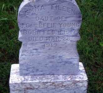 YOUNG, EMMA EILEEN - Madison County, Nebraska | EMMA EILEEN YOUNG - Nebraska Gravestone Photos